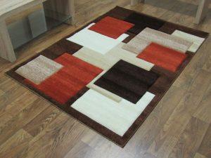 Squares - Brown/Terra