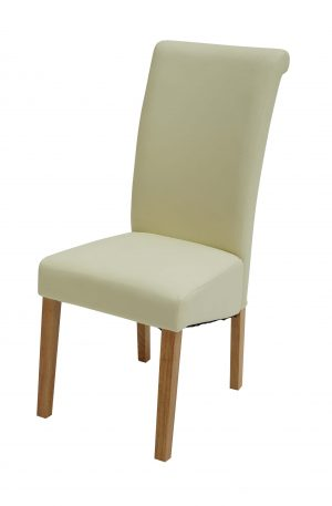 Sydney Walnut Leg Cream Chair