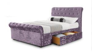 Verona 4'6'' Storage Bed - Lilac