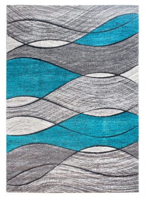 Waves - Black/Teal