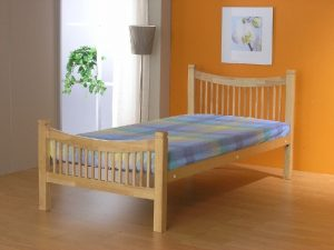 Jordan Single Bed - Beech