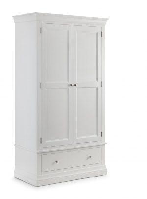 Clermont 2 Door 1 Drawer Wardrobe