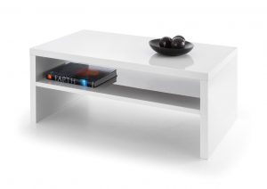 Metro White Hi Gloss Coffee Table