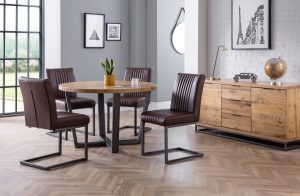 Brooklyn Round Table and 4 Chairs