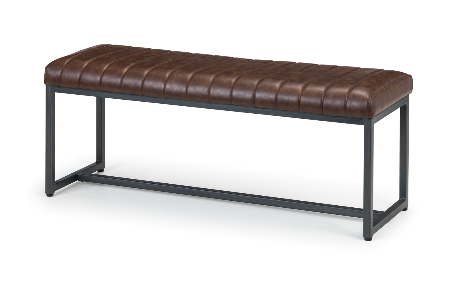 Buy Brooklyn Leather Bench In Kilkenny Treacys Carpets And Furniture