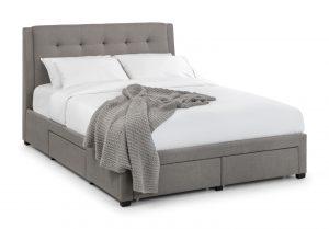 "Fullerton 4'6"" Fabric Bed"