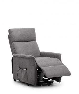 Helena Rise and Recline Chair - Charcoal
