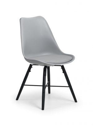 Kari Dining Chair - Grey/Black
