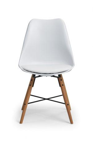 Kari Dining Chair - White/Oak