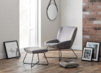 Mila Velvet Accent Chair - Grey