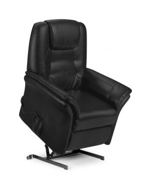 Riva Rise and Recline Chair - Black