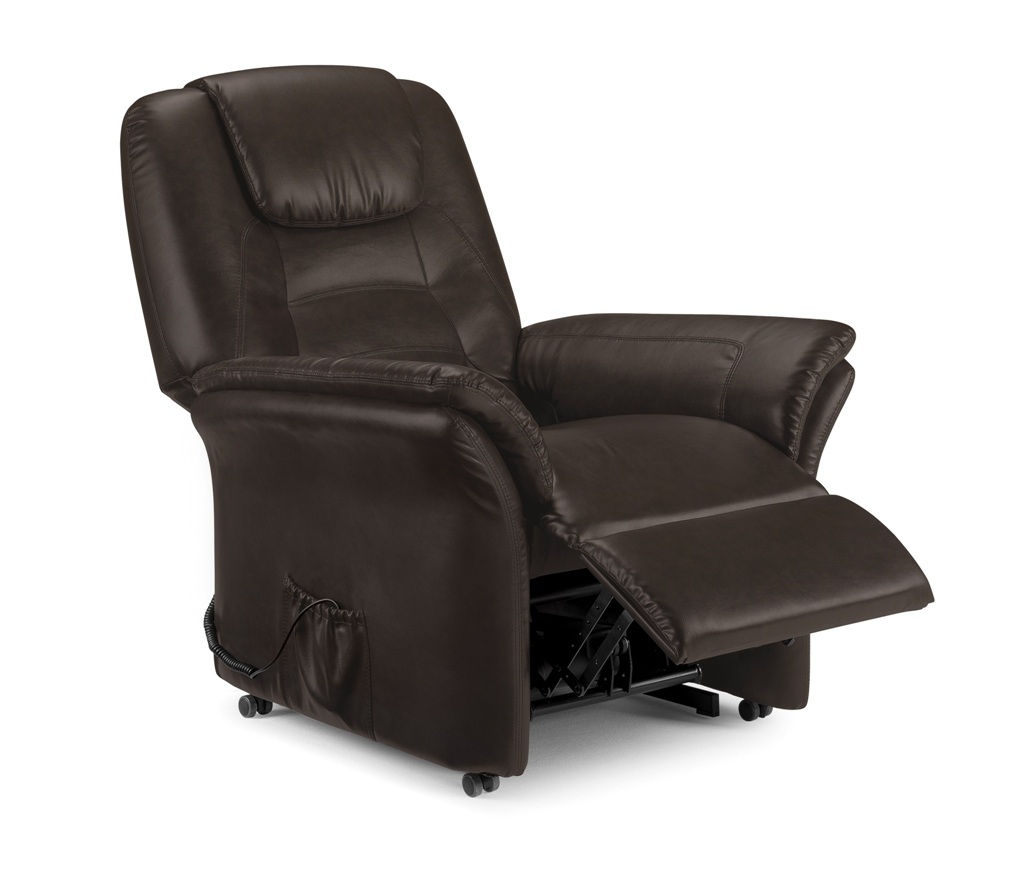 Riva Rise and Recline Chair - Brown