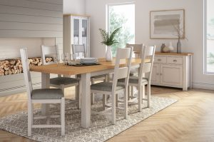 Amberly Extra Large Extending Dining Table