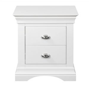 Bella 2 Drawer Bedside Locker