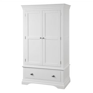 Bella Double Wardrobe with Drawer