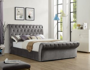 "Chester 4'6"" Upholstered Bed"