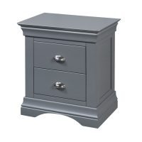 Daniella 2 Drawer Bedside Locker