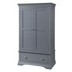 Daniella Double Wardrobe with Drawer