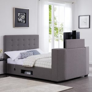 Duval Upholstered TV Bed