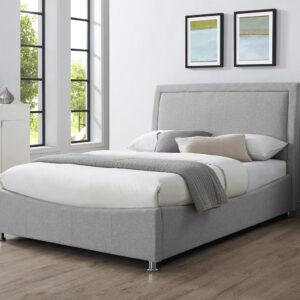 """Emelia 4'6"""" Ottoman Upholstered Bed"""