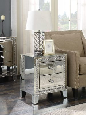 Loughton 2 Drawer Side Table