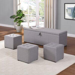 4 Piece Blanket Box
