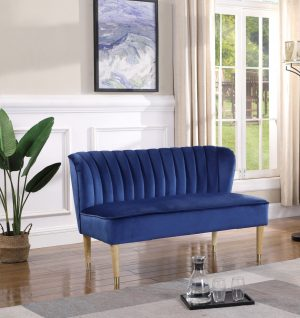 Bella Loveseat Blue