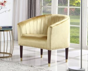 Jessica Gold Armchair