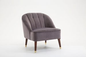 Lucy Grey Armchair