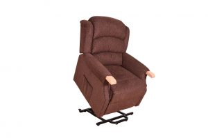 Padstow Lift & Tilt Chair - Dark Brown