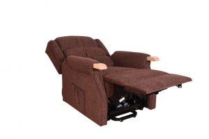 Padstow Lift & Tilt Chair - Dark Brown