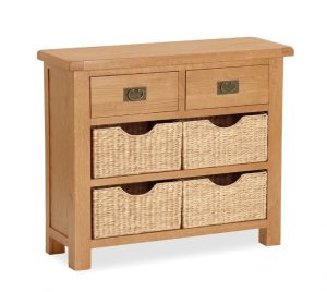 Salisbury Small Sideboard with Baskets