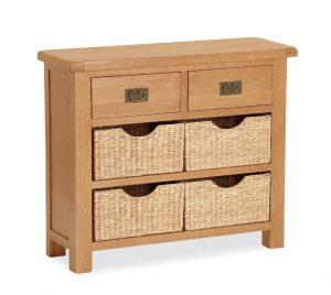 Salisbury Small Sideboard with Baskets