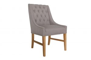 Winchester Dining Chair - Truffle Linen