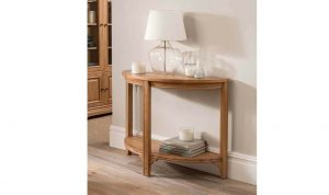 Carmen Half Moon Console Table