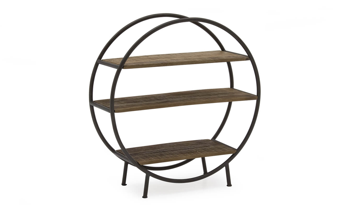 Savannah Round Bookshelf