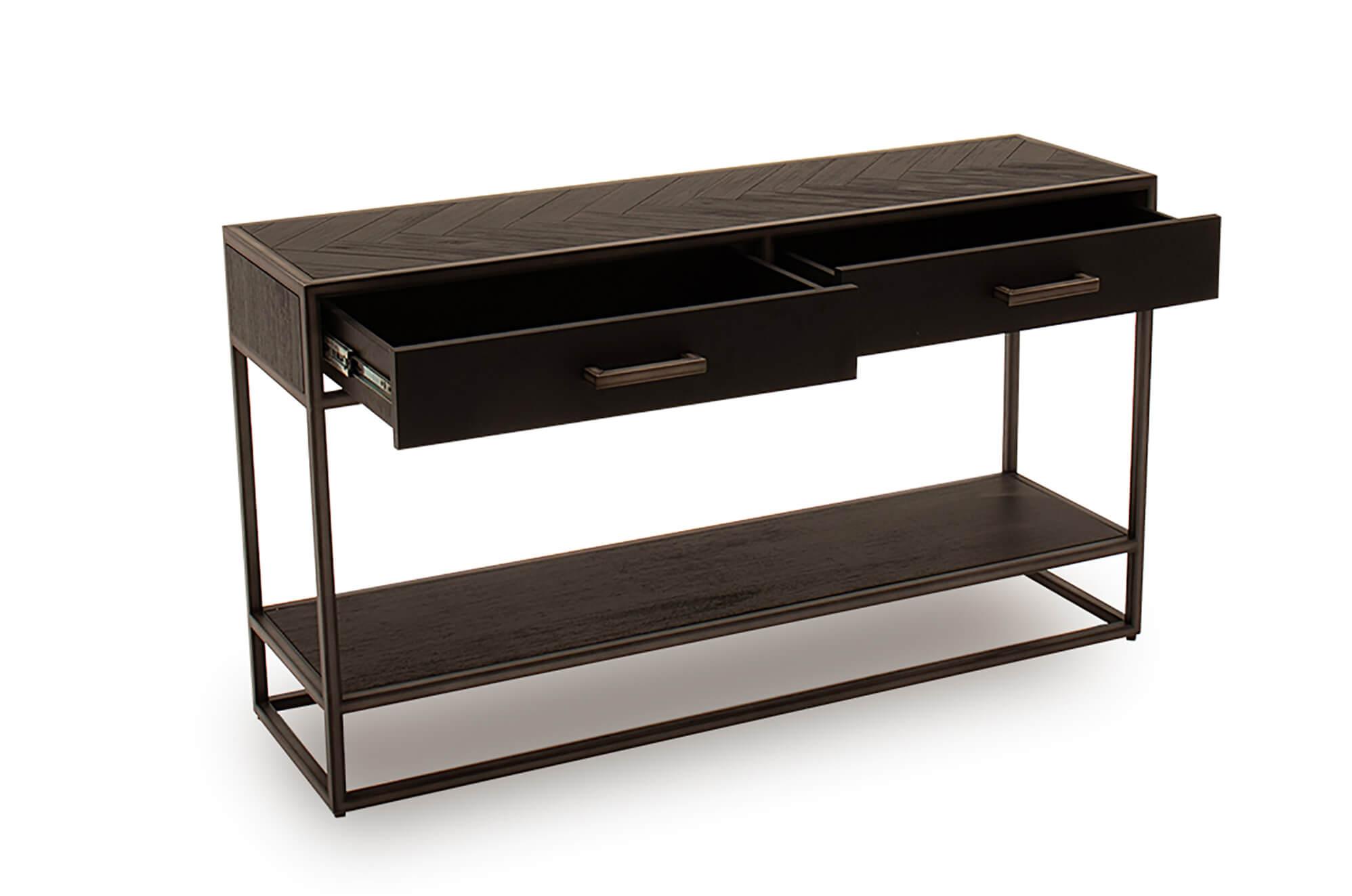 Vanya Dark Brown Console Table