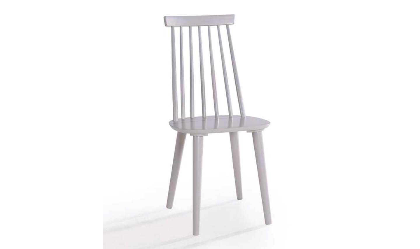 Isla Spindle Dining Chair Grey