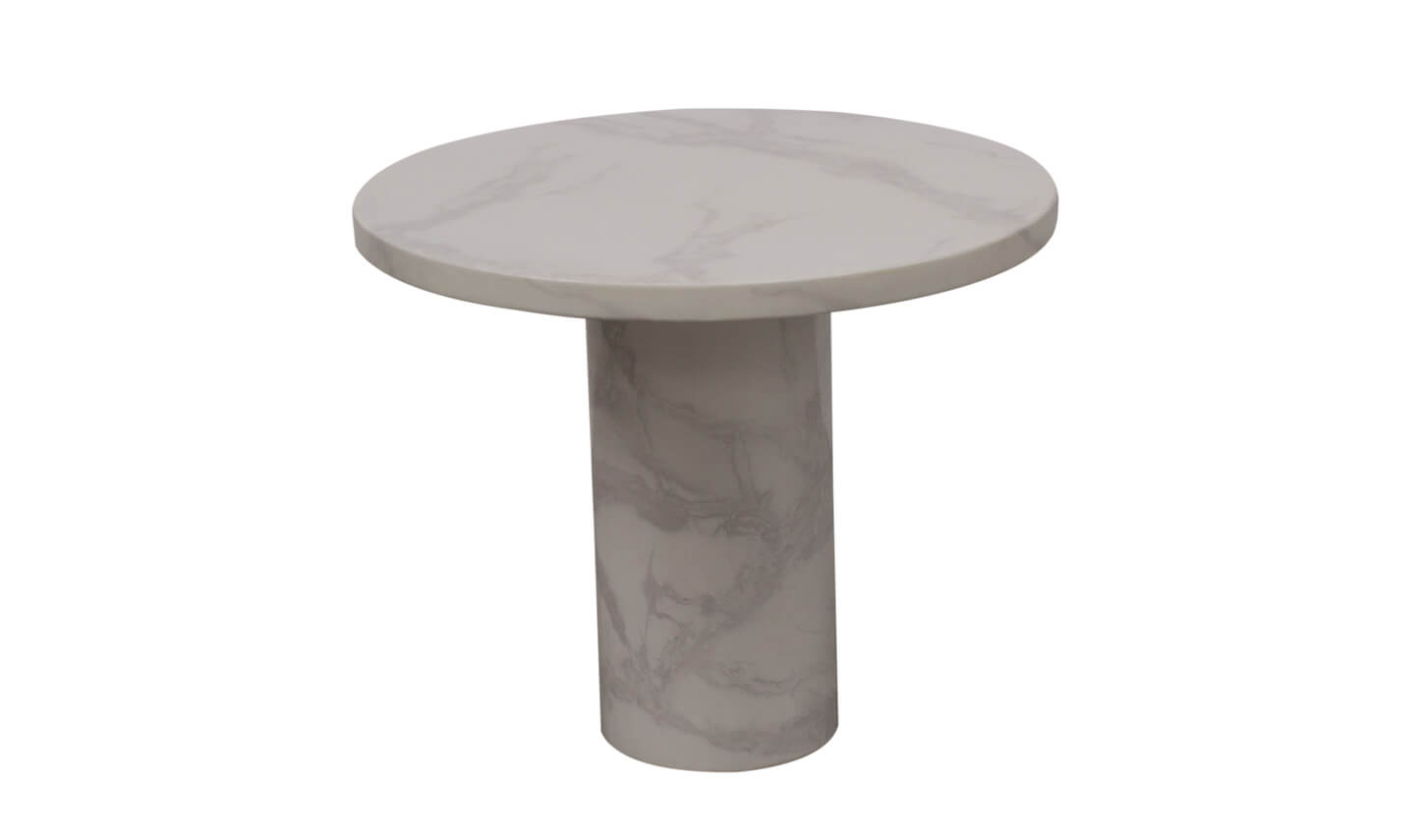 Carra Round Lamp Table