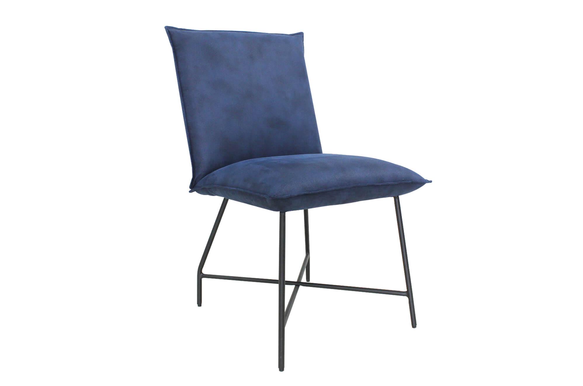 Lukas Dining Chair Indigo Blue