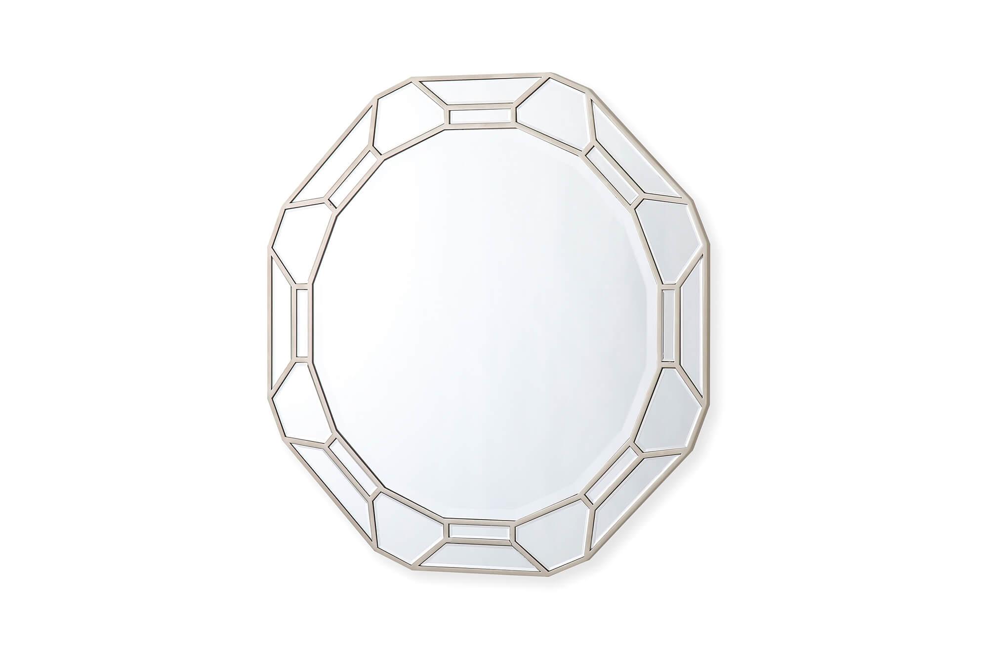 Rosa Round Mirror