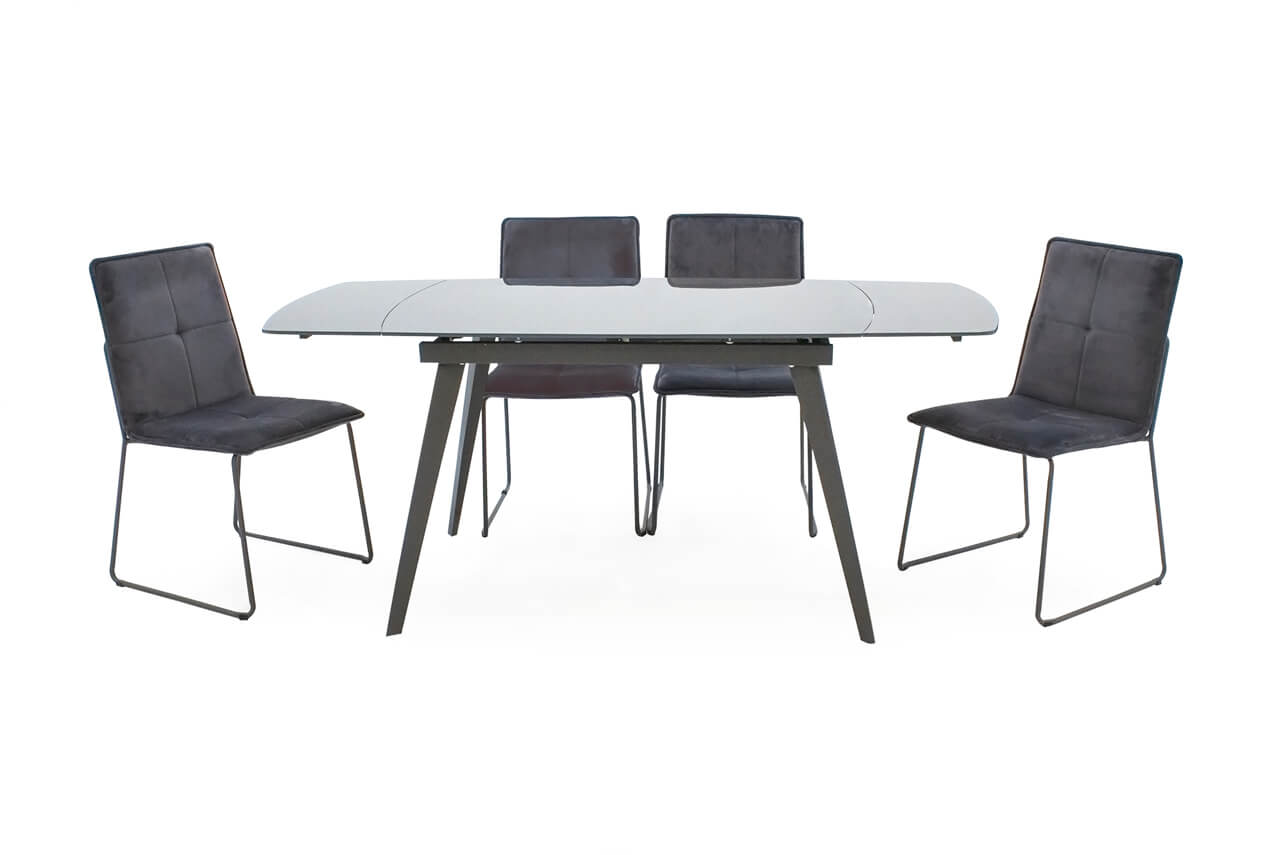 Sabina Extending Dining Table Grey