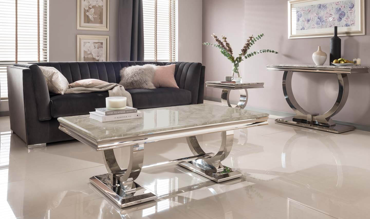 Arianna Cream Coffee Table