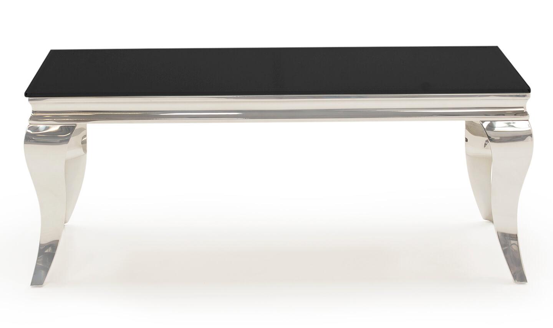 Louis Black Coffee Table 110cm