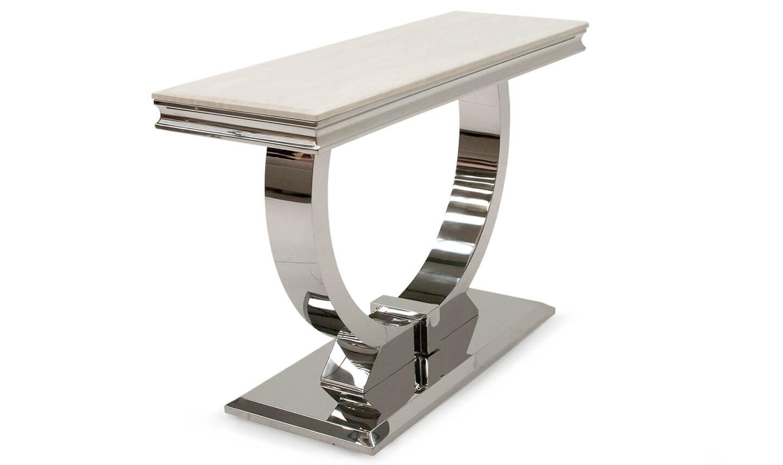 Arianna Cream Console Table