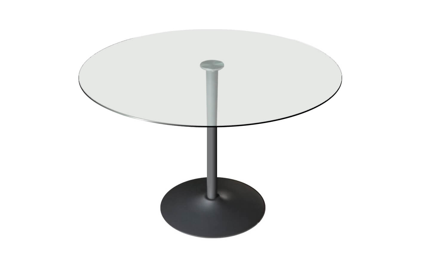 Orbit Dining Table Grey 100