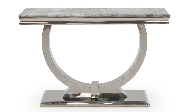 Arianna Grey Console Table