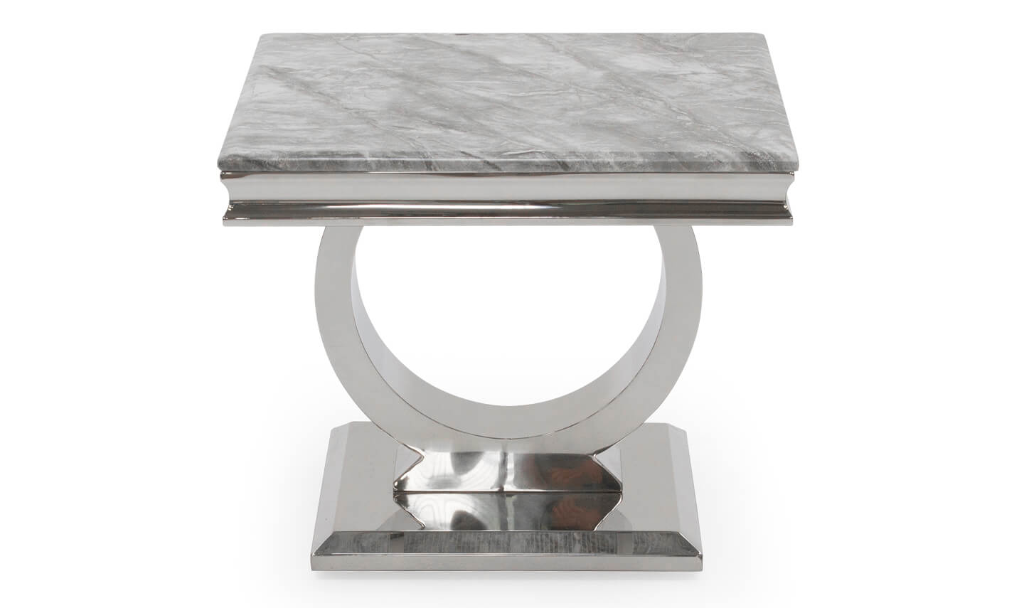 Arianna Grey Lamp Table