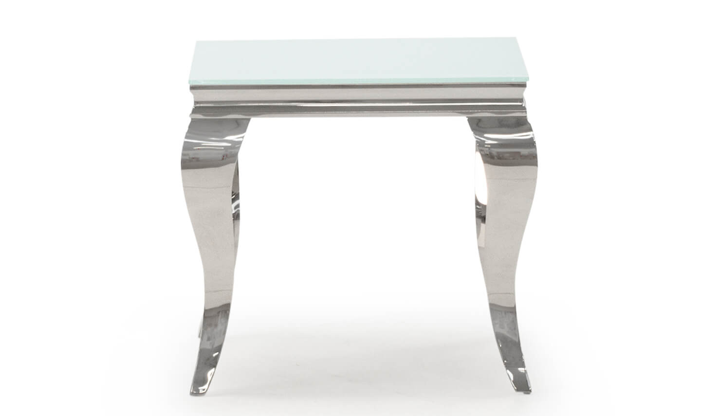 Louis White Lamp Table