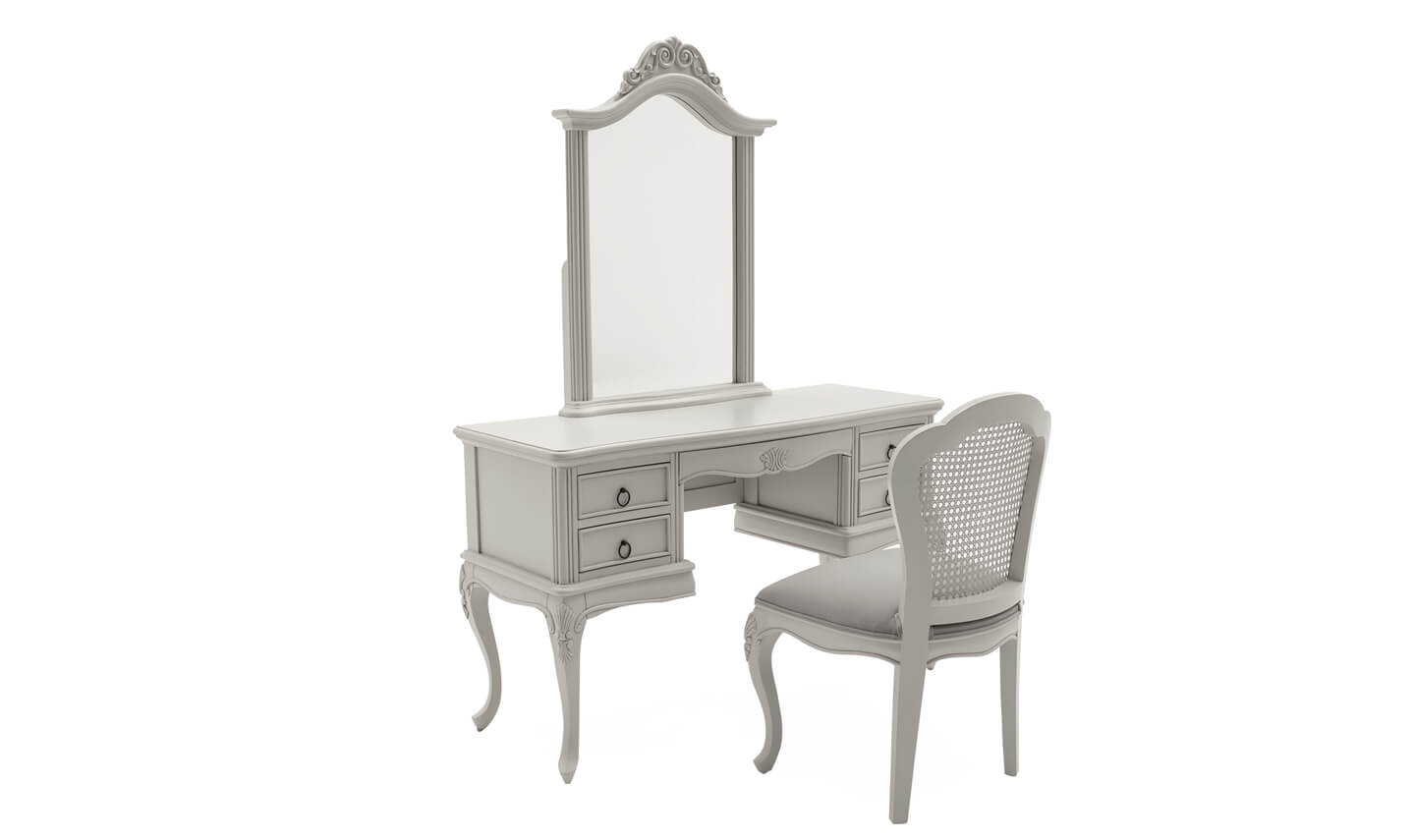 Camille Dressing Table and Mirror
